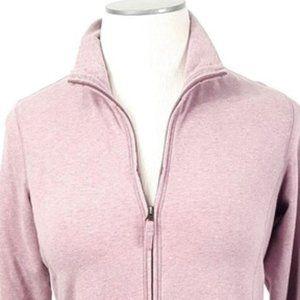 LL Bean Light cotton Jacket Full zip T110